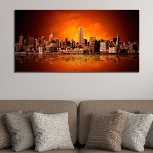 0409 Wall art decoration New York panorama