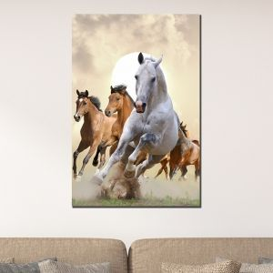 0422 Wall art decoration Horses