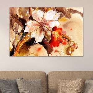 0131_1 Wall art decoration Art flower