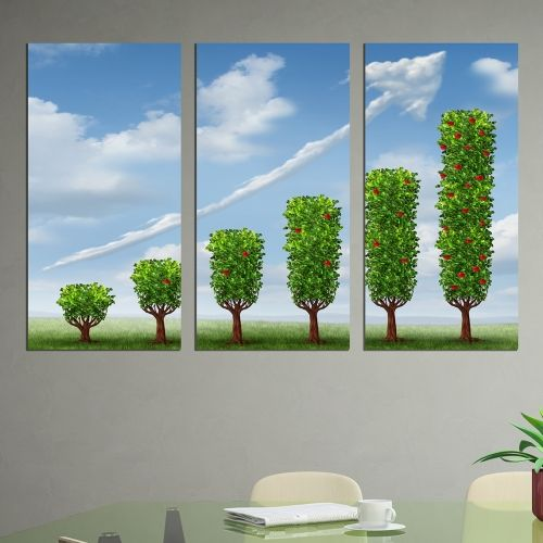 Beautiful wall art decoration for office