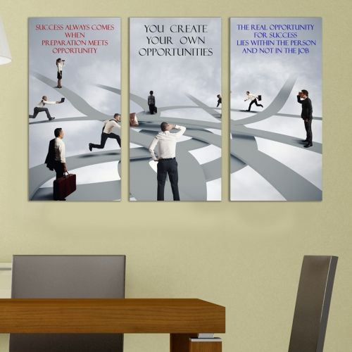 canvas wall art for office