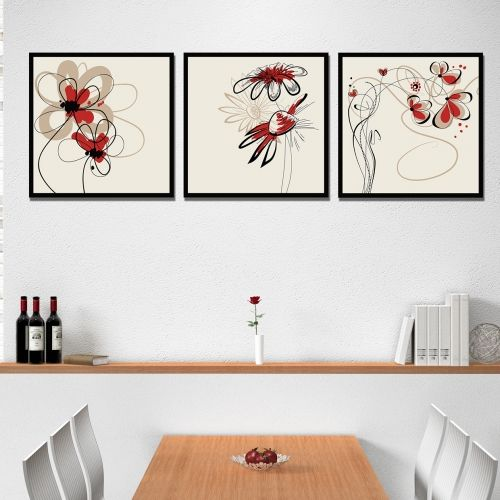 floral canvas wall art
