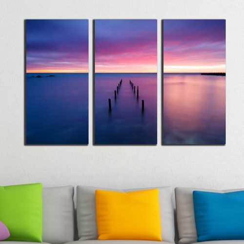 Living room wall art decoration Sea