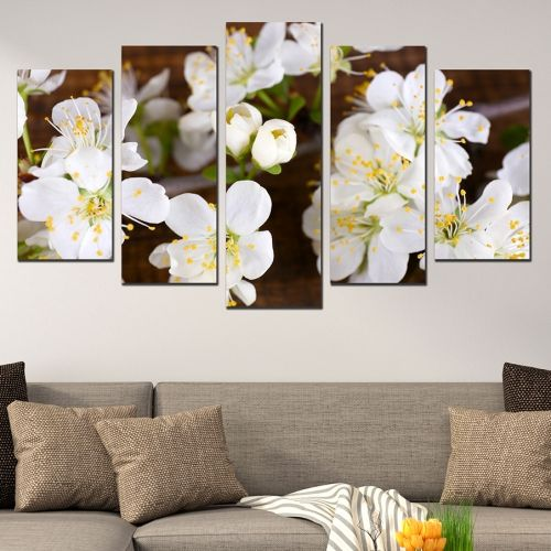 wall decoration blossom