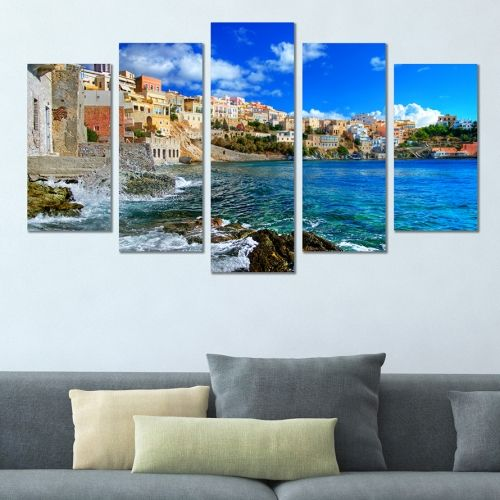 Canvas art Greece