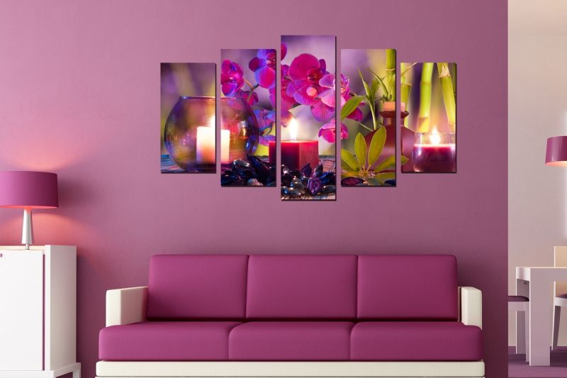 Online store for wall decorations. Set of 5 pieces Zen composition ...
