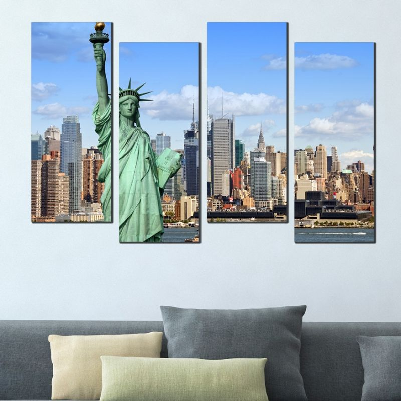 Wall Art Decoration Statue Of Liberty