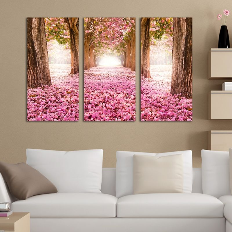Wall art decoration for bedroom (set of 3 pieces) Fabulous park