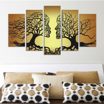 Modern painting for bedroom