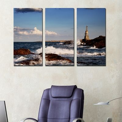 0247 Wall art decoration (set of 3 pieces) Ahtopol, Bulgaria