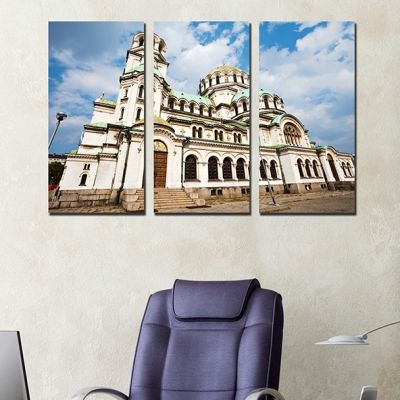 0250 Wall art decoration (set of 3 pieces) Sofia, Bulgaria
