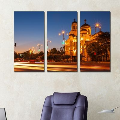 0252 Wall art decoration (set of 3 pieces) Varna, Bulgaria