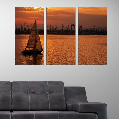 0253 Wall art decoration (set of 3 pieces) Varna, Bulgaria
