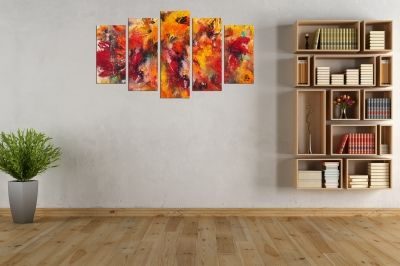 Wall art decoration for living room