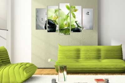 Spa composition wall decoration