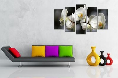Canvas wall art set for living room
