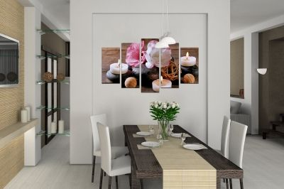 Canvas wall art set for kitchen