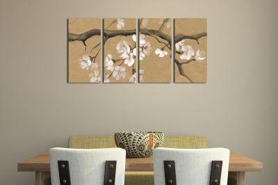 Canvas wall art set for dinning room