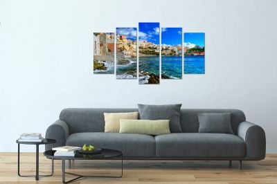 Wall art canvas print Greece