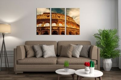 Wall art set of 3 pieces Rome