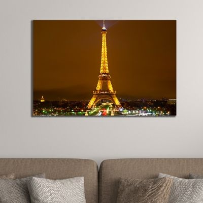 0394 Wall art decoration Paris at night