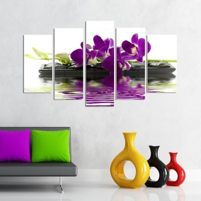 set of 5 parts wall decoration