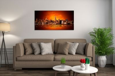 Wall art canvas decoration New York panorama