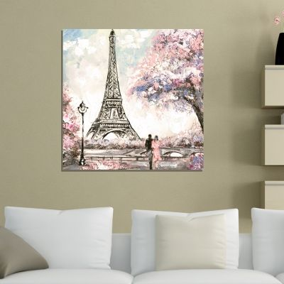 Beautiful canvas wall art painting Paris