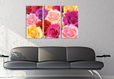 roses wall art decoration