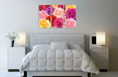 Roses canvas art