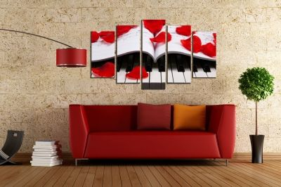 wall art decoration set of 4 pieces