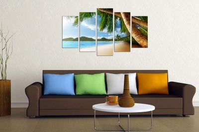 canvas print decorationsea landscape exotic beach