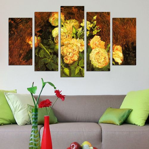 R010 - Roses by Vincent van Gogh (1, 3 or 5 pieces)