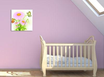 Wall art decoration for girl room