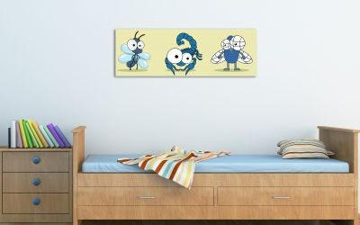 Kids wall art decoration boy room