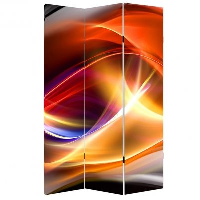 P0280 Decorative Screen Room divider Color waves (3,4,5 or 6 panels)