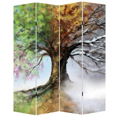 P0168 Decorative Screen Room divider Seasons (3,4,5 or 6 panels)