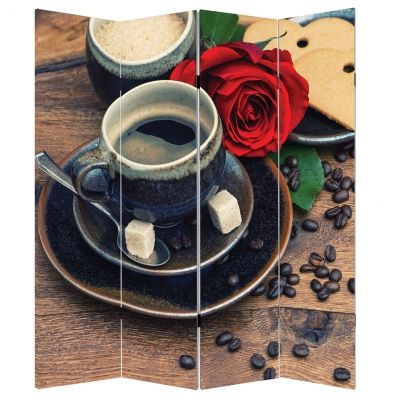 P0500 Decorative Screen Room divider Composition with coffee (3,4,5 or 6 panels)