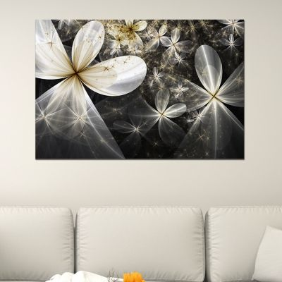 0629_1 Wall art decoration Abstract flowers
