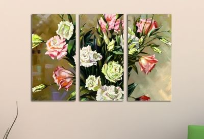 Reproduction painting roses