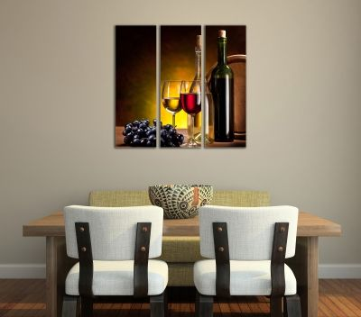 0065 Canvas Wine