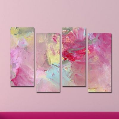Canvas wall art Stylish rose