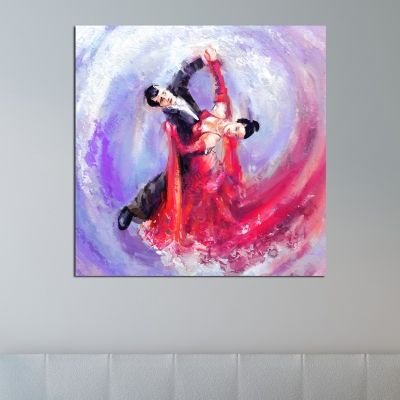0137  Wall art decoration Love dance