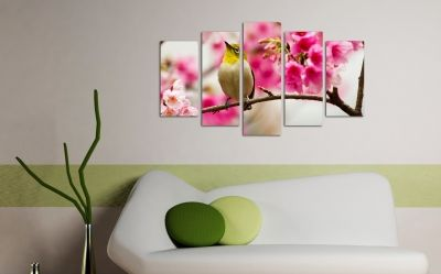 Canvas wall art spring