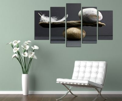 Set 5 parts wall art decoration