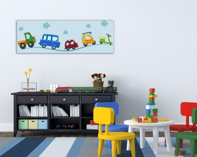 Kids wall art decoration boy