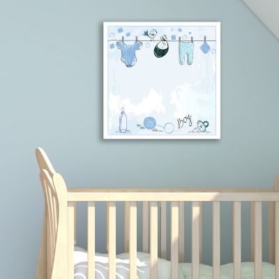 0174_2  Wall art decoration Baby boy