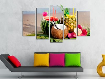 Colorful wall decoration