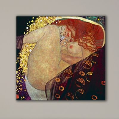 Reproduktion on canvas - Gustav Klimt