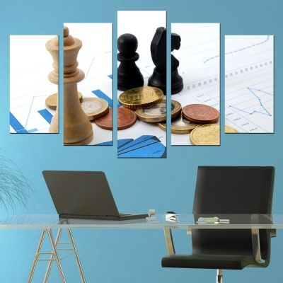 0233 Wall art decoration (set of 5 pieces) Business analysis